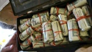People who have found stacks of cash hidden in their homes