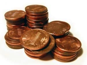 pennies unclaimed